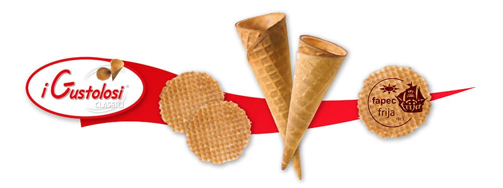 vendita coni gelato, Coni Gustolosi classici