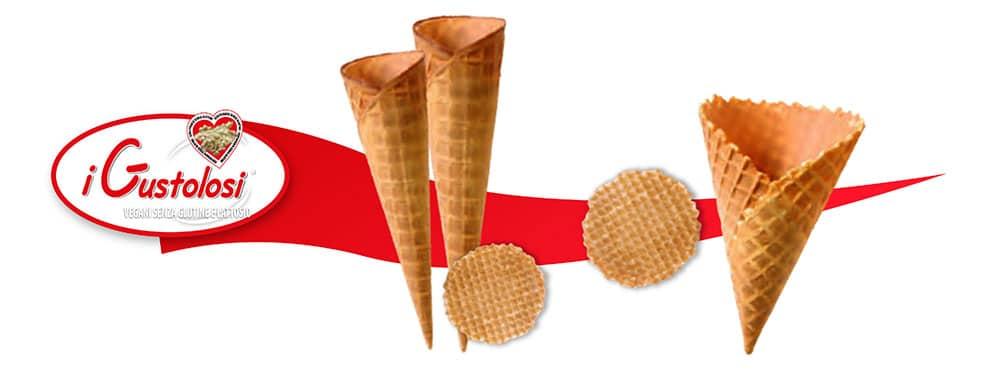 coni gelato classici, Coni Gelato e cialde